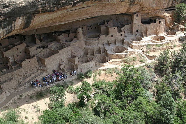 Be sure to visit the Mesa Verde