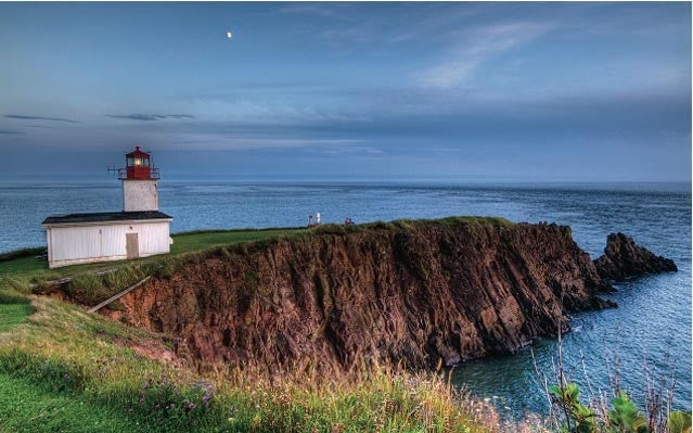 Cape d'Or, on Nova Scotia's Bay of Fundy