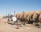 Tent city at Davis-Monthan Air