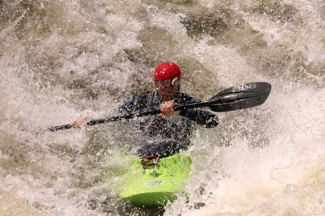 Ocoee River, Tennessee.