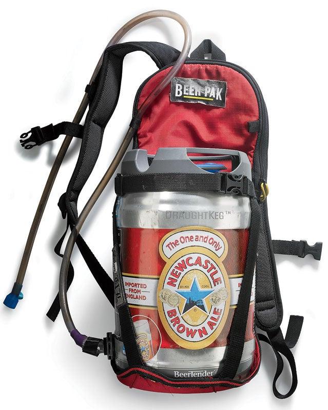 keg carrier backpack gear readers