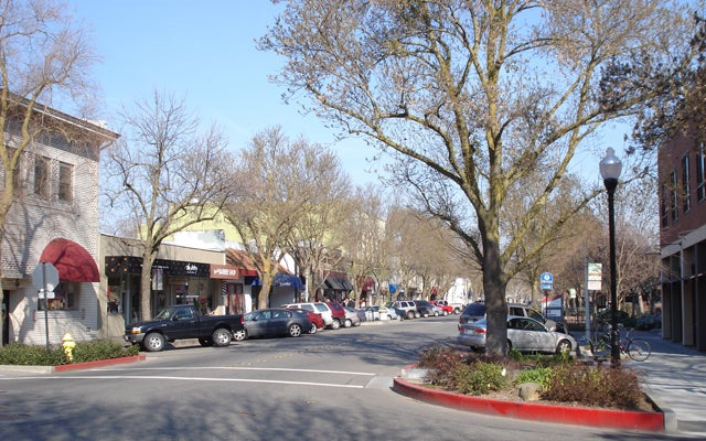 Davis, California.