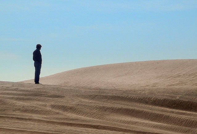 survival apocalypse desert alone