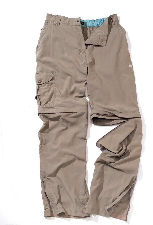Women's hiking pants.