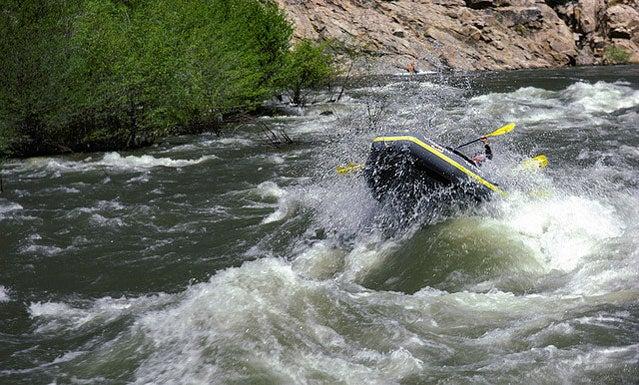 Kern river paddle dangerous California