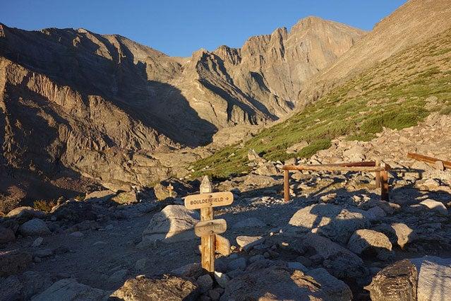 Keyhole Route dangerous trip hiking Colorado