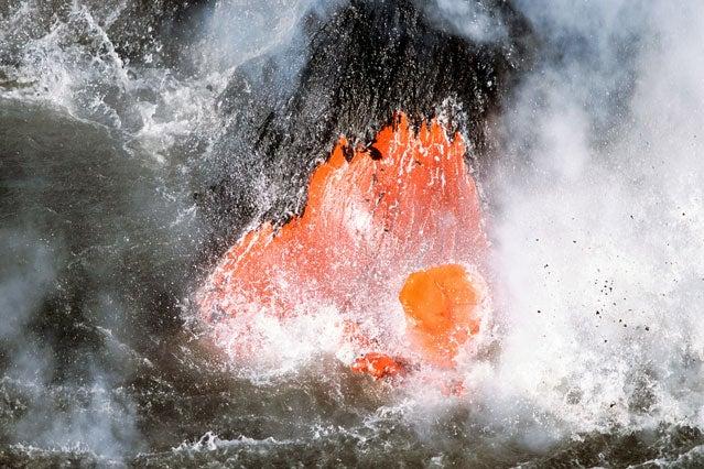 lava steam volcano apocalypse survival