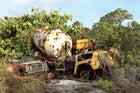 A U.S. military bunker blights