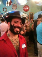 beard mustache Coney Island Rob Anderson