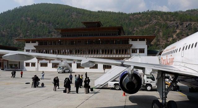 Airport in Bhutan