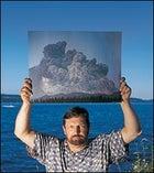 Keith Ronnholm at Lake Washington in Seattle, July 16, 2002.