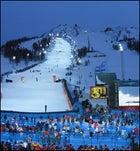 Sestriere Borgata's Slalom course