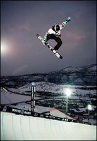 Shaun White at the 2009 winter X Games