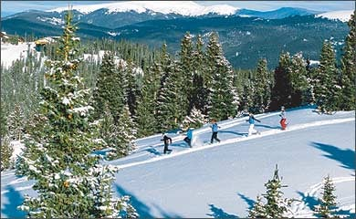Cold Play: Snowshoeing at Keystone