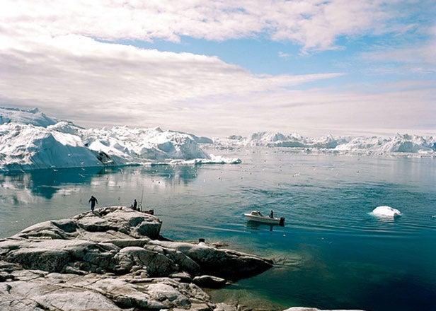 Greenland's west coast