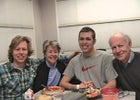 Kevin Pearce and family