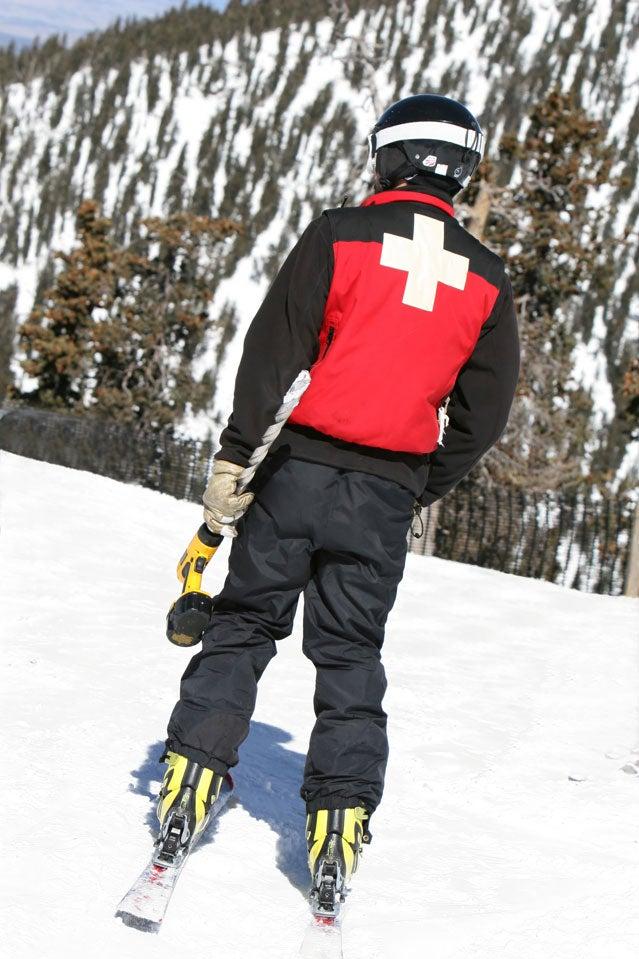 Ski patroller Shutterstock.