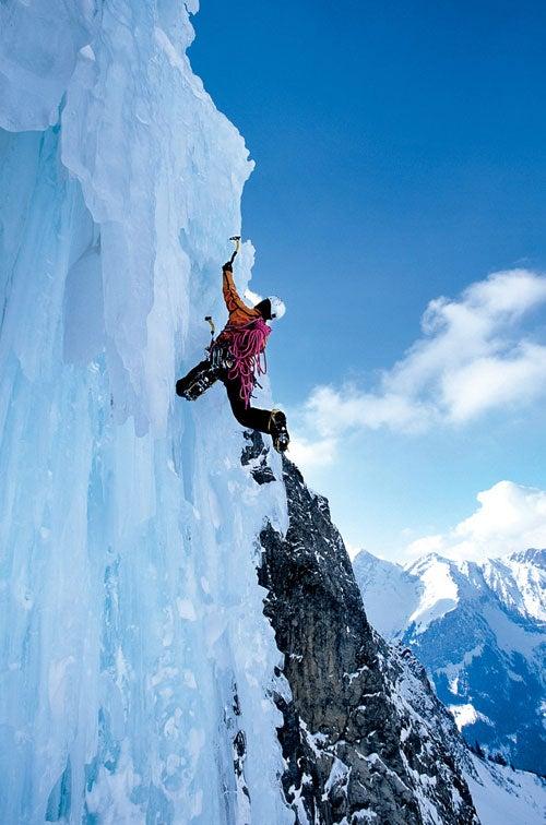 Steck in Bernese Alps