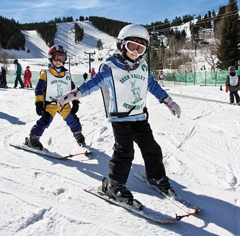Deer Valley's ski school
