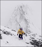 Backcountry Skiing the French Alps