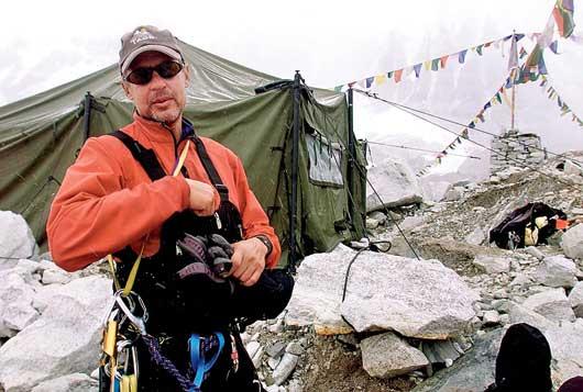 At Everest Base Camp