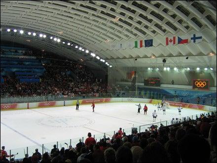 Winter Olympics ice hockey