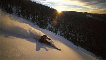 Skiing Vail, Colorado