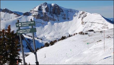 Skiing Jackson Hole Mountain Resort, Wyoming
