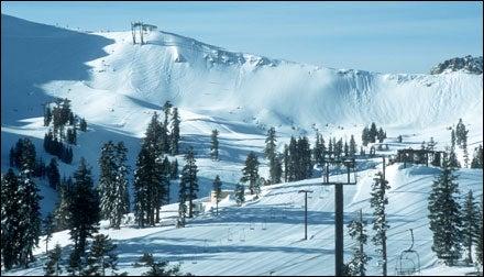 Skiing Squaw Valley's Siberia Ridge, California