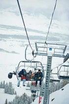 Cineflex on a Chairlift
