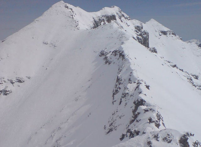 delirium dive skiing dangerous Sunshine Village