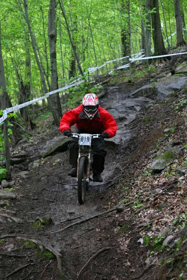 Mountain-biking in Quebec