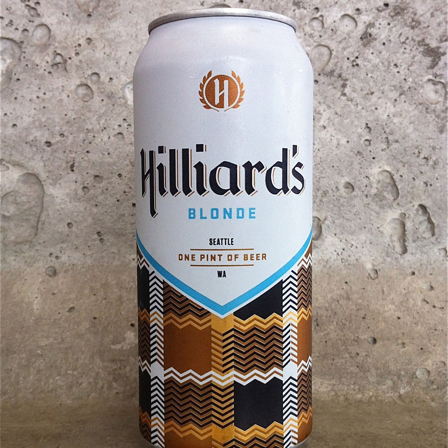 hilliards blonde canned beer outside rafting and fishing summer