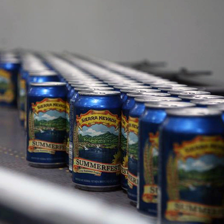 sierra nevada summerfest lager outside canned beer