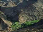 Green peace: lush valleys near the Lamayuru Monastery, Ladakh, India