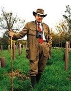 Colonel John Blashford-Snell, resplendent in Saville Row khaki, near his home in Dorset, England