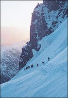 Porters descending from Camp 2