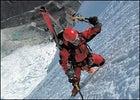 Hans Saari climbs Huandoy