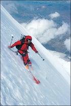 Cutting edge: Saari side-slipping down the Shield, 21,000 feet and dropping