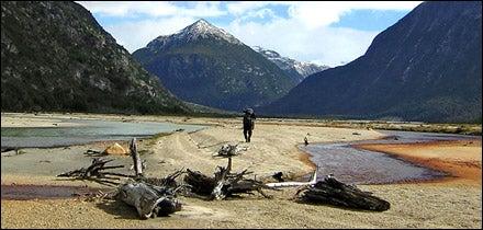 Aysen Glacier Trail, Chile