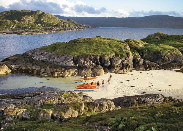 Arisaig Scotland Scottish Sea Kayak Trail