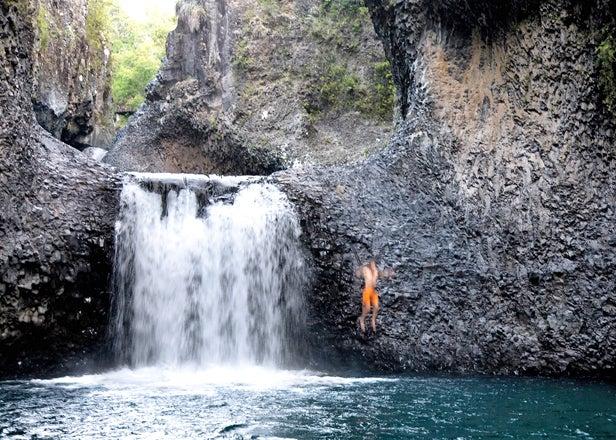 Chilean waterfall