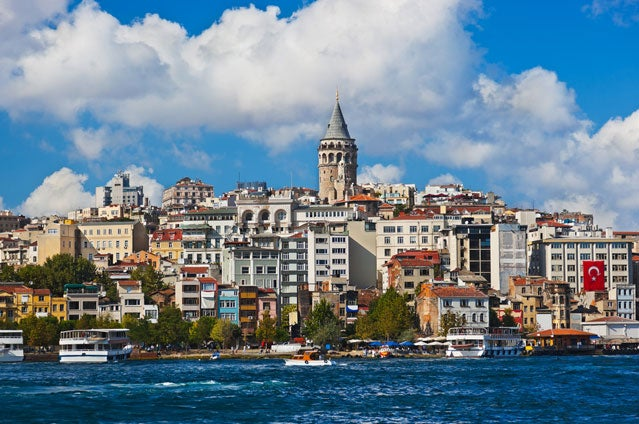 Istanbul's skyline