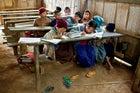 A school in the village of Tha Da Der.