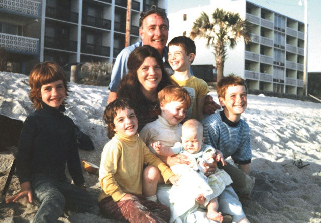 The family in Myrtle Beach