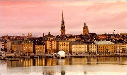 Tour Skating in Stockholm, Sweden