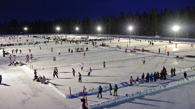 World Pond Hockey Championships.