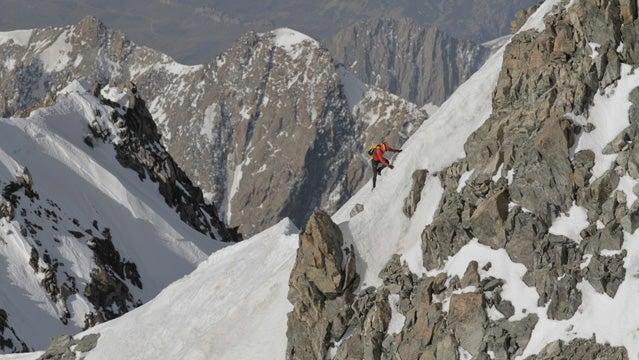 Jornet in the Alps.