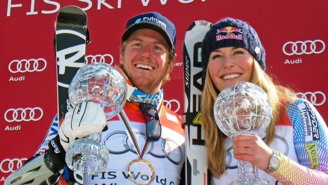 Ted Ligety and Lindsey Vonn.