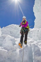 Everest 2012 FA Accelerant Jacket FA Alchemist pack FA Mountain Guide Pant FA Wind Pro Glove Himalaya Khumbu Icefall Khumbu glacier Melissa Arnot